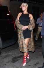 RIHANNA Night Out in New York 10/10/2017