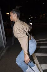 RIHANNA Night Out in New York 10/11/2017