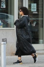 RIHANNA Out and About in New York 10/21/2017