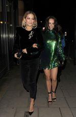 RITA and Her Sister ELENA ORA Leaves C Restaurant in London 10/23/2017