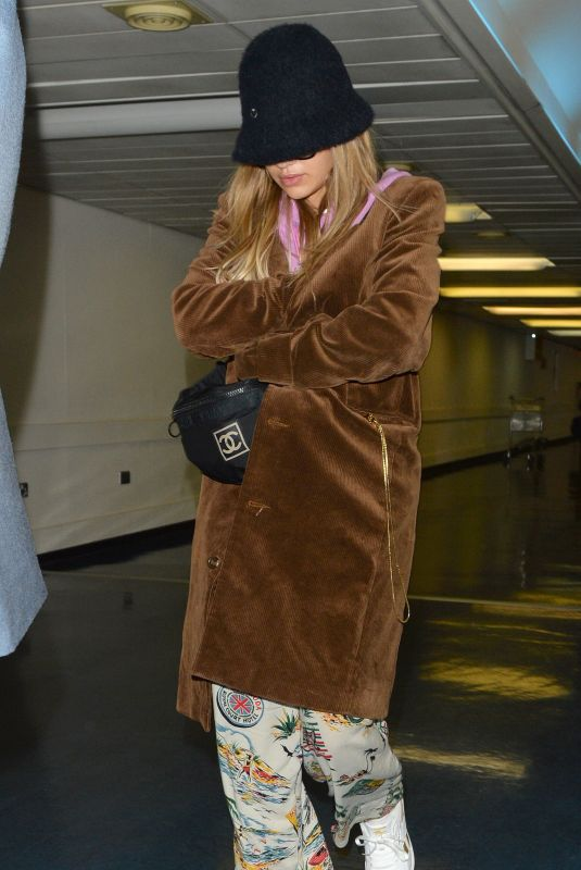 RITA ORA Arrives at Heathrow Airport in London 10/17/2017
