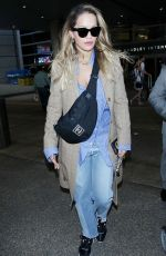RITA ORA at Los Angeles International Airport 09/30/2017