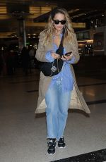 RITA ORA at Los Angeles International Airport 09/30/2017