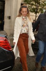 RITA ORA Leaves BBC Radio 2 in London 10/21/2017