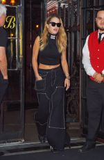 RITA ORA Leaves Bowery Hotel in New York 10/06/2017