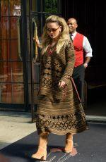RITA ORA Leaves Her New York