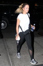 RITA ORA Leaves Late Night Gym Session in New York 10/04/2017