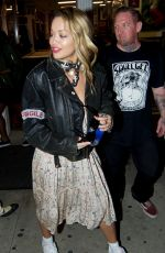 RITA ORA Leaves Shamrock Tattoo in Los Angeles 09/30/2017