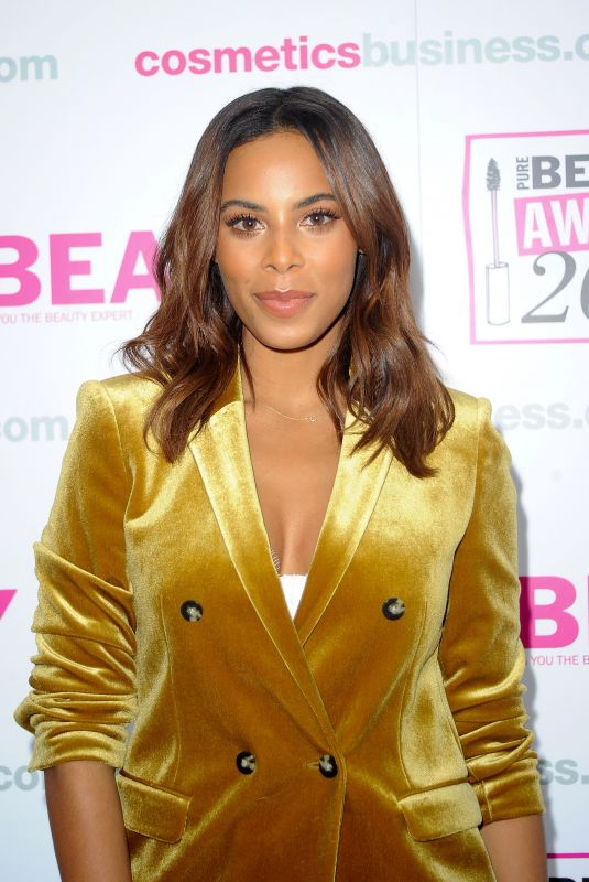 ROCHELLE HUMES at Pure Beauty Awards 2017 in London 10/26/2017