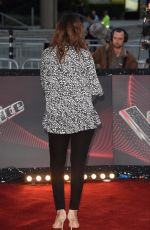 ROCHELLE HUMES at The Voice Photocall in Manchester 10/17/2017