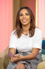 ROCHELLE HUMES at This Morning Show in London 10/26/2017