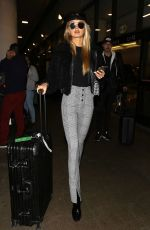 ROMEE STRIJD at Los Angeles International Airpoit 10/30/2017