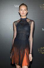 ROMEE STRIJD at Vogue Party at Paris Fashion Week 10/01/2017