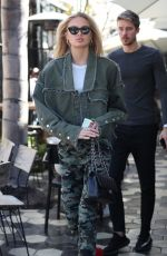 ROMEE STRIJD Out and About in Los Angeles 10/05/2017