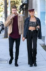 ROMEE STRIJD Out for Lunch at Zinque Cafe in West Hollywood 10/10/2017