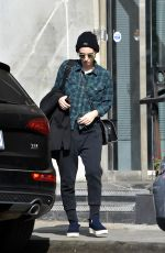 ROONEY MARA Out and About in West Hollywood 10/11/2017