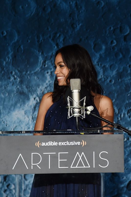 ROSARIO DAWSON at Artemis: Journey to the Moon Presentation in New York 10/05/2017