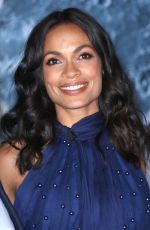 ROSARIO DAWSON at Museum of Artemis: Life on the Moon Opening in New York 10/04/2017