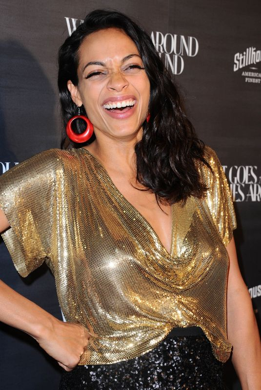 ROSARIO DAWSON at What Goes Around Comes Around One Year Anniversary in Los Angeles 10/11/2017