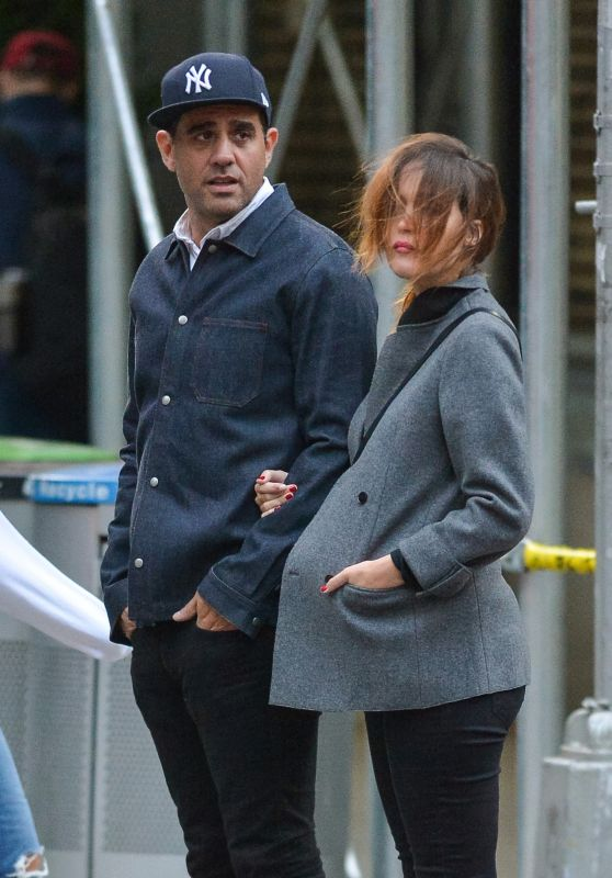 ROSE BYRNE and Bobby Cannavale Out in New York 10/01/2017