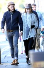 ROSE LESLIE and Kit Harington Out in London 10/06/2017