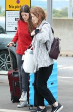 ROSE LESLIE at Heathrow Airport in London 10/08/2017