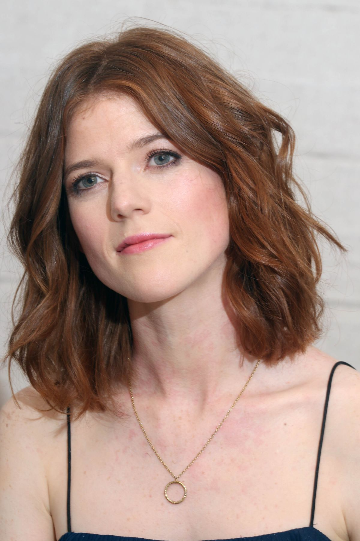 ROSE LESLIE at The Good Fight Press Conference in West ...