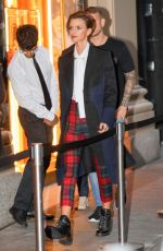 RUBY ROSE Arrives at Bulgari Flagship Store Opening in New York 10/20/2017