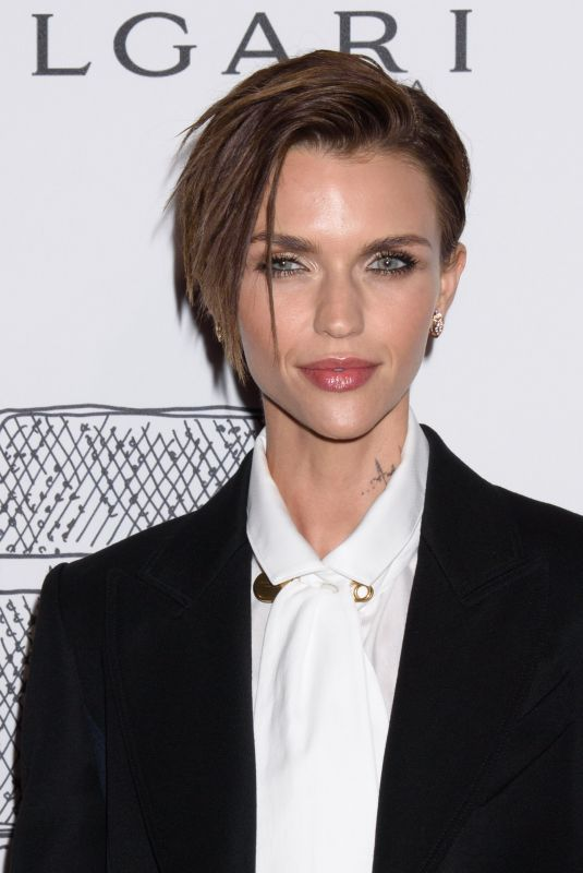 RUBY ROSE at Bulgari Celebrates 5th Avenue Flagship Store Opening in New York 10/20/2017
