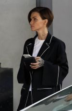 RUBY ROSE Out and About in Hollywood 10/17/2017
