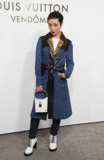 RUTH NEGGA at Louis Vuitton's Boutique Opening at Paris Fashion Week 10/02/2017