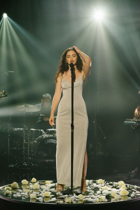 SABRINA CLAUDIO at Late Late Show with James Corden 10/23/2017