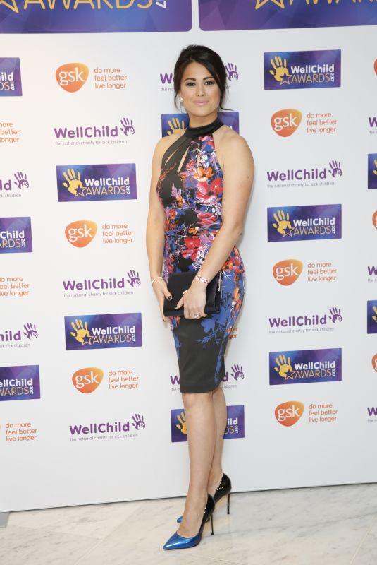 SAM QUEK at WellChild Awards in London 10/16/2017