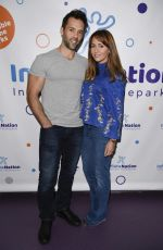 SAMIA GHADIE at Inflata Nation Inflatable Themeparks Opening in Manchester 10/20/2017
