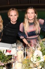 SARA FOSTER and KELLY SAWYER at Tabitha Simmons by Jennifer Aniston Dinner in West Hollywood 10/12/2017