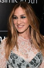 SARAH JESSICA PARKER at Intimissimi Flagship Boutique Opening in New York 10/18/2017