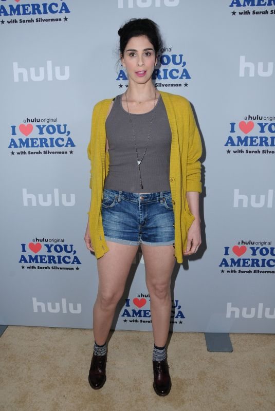 SARAH SILVERMAN at I Love You, America with Sarah Silverman Premiere in Los Angeles 10/11/2017