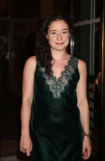 SARAH STEELE at Time and the Conways Opening Night in New York 10/10/2017