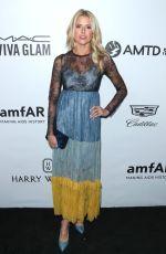 SARAH WRIGHT at Amfar Inspiration Gala in Los Angeles 10/13/2017