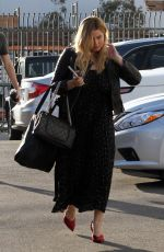 SASHA PIETERSE Arrives at Dancing with the Stars Practice in Hollywood 10/05/2017