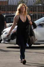 SASHA PIETERSE Arrives at DWTS Rehersal in Los Angeles 10/11/2017