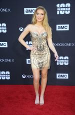 SAXON SHARBINO at The Walking Dead, Season 8 Premiere in Los Angeles 10/22/2017