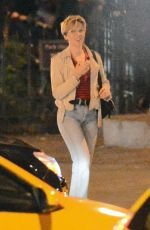 SCARLETT JOHANSSON and Bobby Flay Out for Dinner in New York 10/15/2017