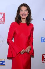 SELA WARD at TV Guide Magazine Cover Celebration in New York 10/11/2017