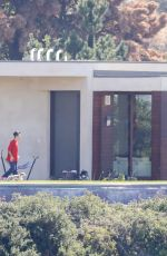 SELENA GOMEZ and Justin Bieber at a Rental House in Los Angeles 10/27/2017