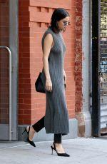 SELENA GOMEZ Leave hHer Apartment in New York 10/22/2017