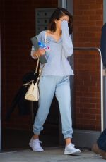 SELENA GOMEZ Leaves Her Apartment in New York 10/04/2017