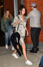 SELENA GOMEZ Leaves Her Apartment in New York 10/17/2017
