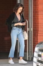 SELENA GOMEZ Out and About in New York 10/03/2017
