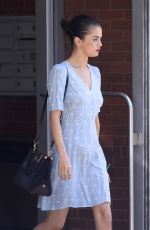 SELENA GOMEZ Out and About in New York 10/18/2017
